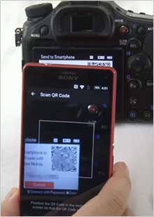 Setup for Android mobile devices | Imaging Edge Mobile | Sony