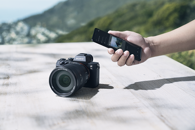Imaging Edge Mobile | Sony
