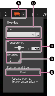 Operations on the Live View screen   How to use   Imaging Edge
