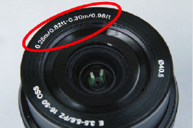 Minimum Focusing Distance