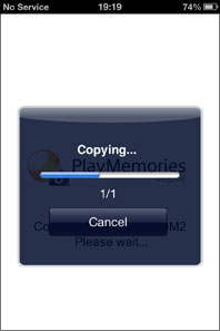 Sending images from Cyber-shot to an iPhone/iPad | Set-up Guide